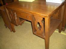 Oak libary table