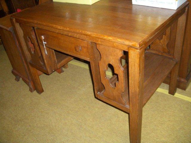 Oak libary table
