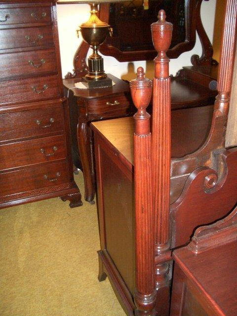 Mahogany bed - double