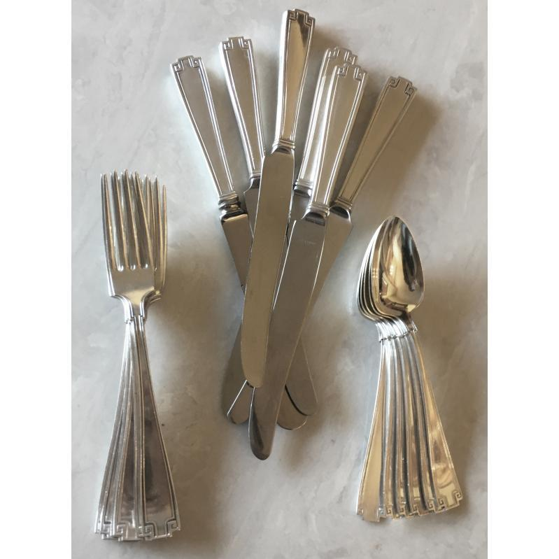 Etruscan Sterling Silver Flatware - Set of 18