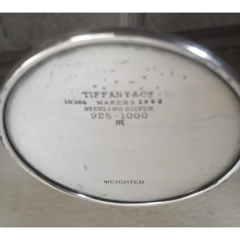 Antique Tiffany & Co Sterling Silver Trumpet Vase