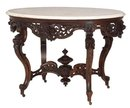 Meeks Rosewood Laminated Center Table