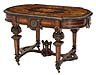 Inlaid Rosewood Center Table