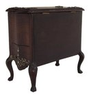 Rosewood Victorian jewelry chest