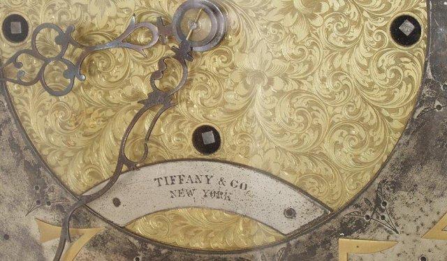 Tiffany Durfee #20 oak Grandfather clock