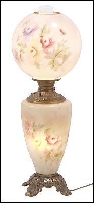 Floral GWTW lamp