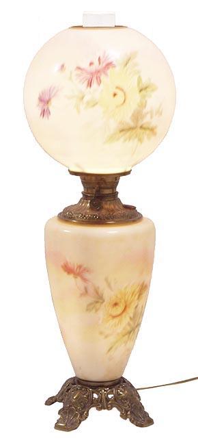 Floral GWTW lamp