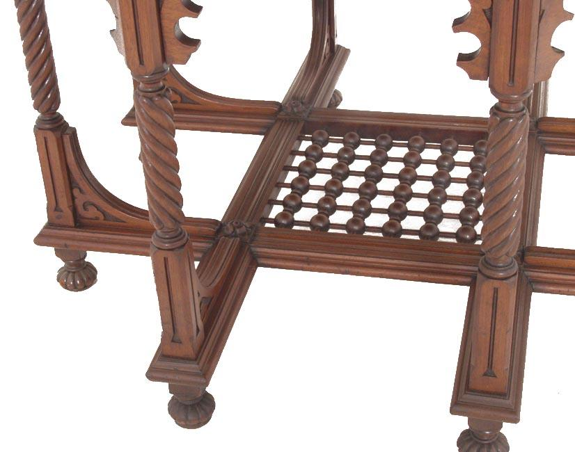 Octagonal Mahogany Table