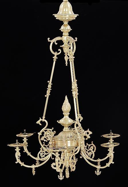 Six Arm Chandelier