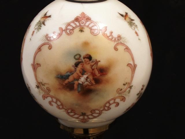 Miniature Cupid Lamp