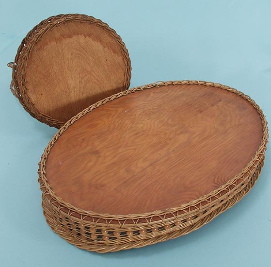 Two Lovely Butterfly Trays