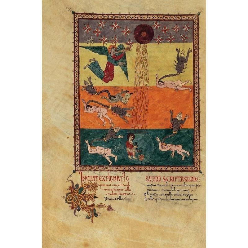 Folder of 5 prints from the Girona Beatus