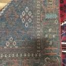 Vintage Handmade Josheghan Red Wool Oriental Rug 6'8 x 9'8