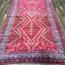 Handmade Vintage Persian Hamadan Oriental Area Rug 4'7 x 9'