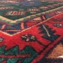 Handmade Antique Persian Hamadan Oriental Runner Rug 4'9 x 10'4