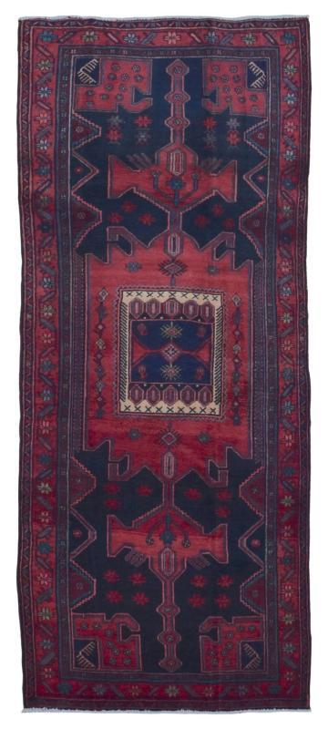 Antique Handmade Persian Hamadan Oriental Area Rug 4' x 7'10
