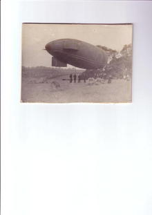 AIRSHIP PHOTOGRAPH ORIGINAL