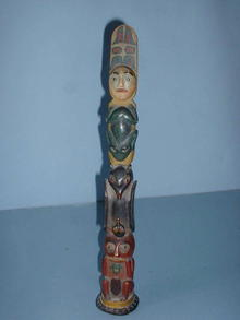 North West Coast  America Totem,