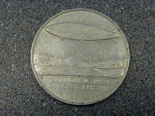 R101 MEDALLION COMMEMORATING LAUNCH IN 1929