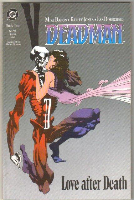 Deadman #2 comic book near mint 9.4