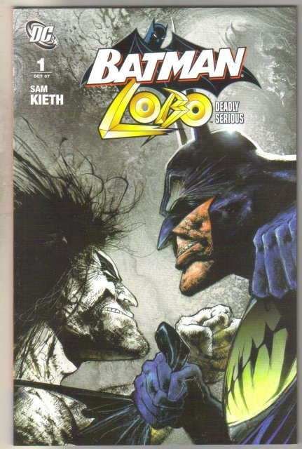Batman Lobo Deadly Serious #1 comic book mint 9.8