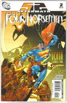 52 Aftermath The Four Horsemen #2 comic book mint 9.8
