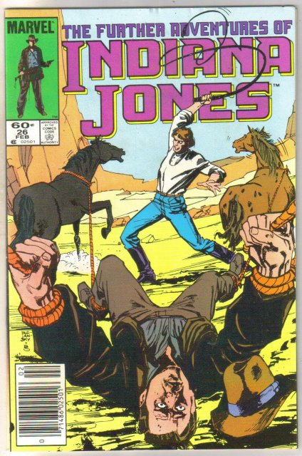 Further Adventures of Indiana Jones #26 comic book near mint 9.4