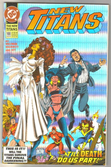 New Titans #100 comic book  mint 9.8