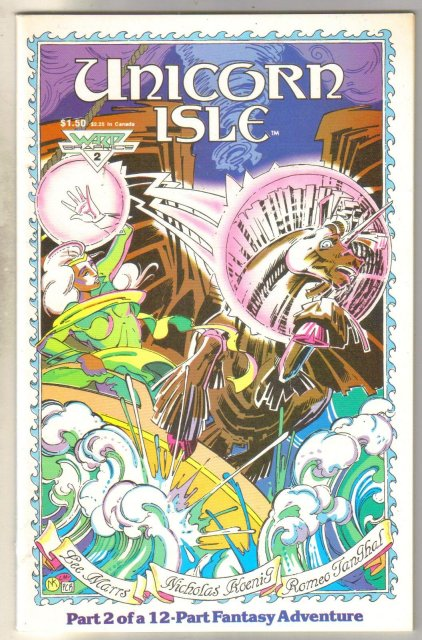 Unicorn Isle #2 comic book mint 9.8