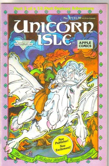Unicorn Isle #3 comic book mint 9.8