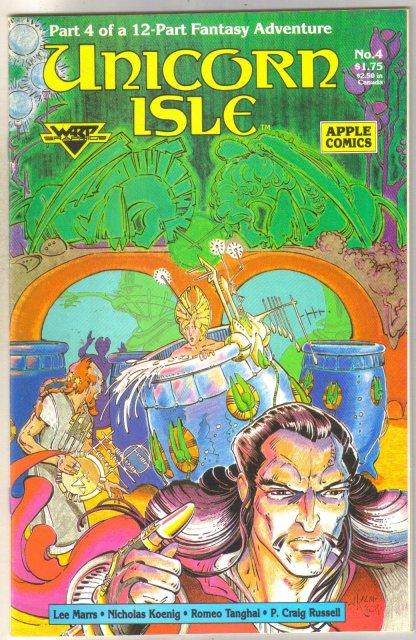 Unicorn Isle #4 comic book mint 9.8