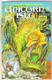 Unicorn Isle #5 comic book mint 9.8
