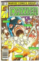 The Dazzler #19 comic book near mint 9.4