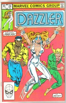 The Dazzler #24 comic book near mint 9.4