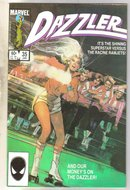 The Dazzler #35 comic book near mint 9.4