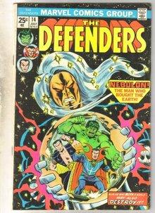 Defenders #14 comic book very good 4.0