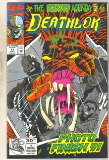 Deathlock #13 comic book near mint 9.4