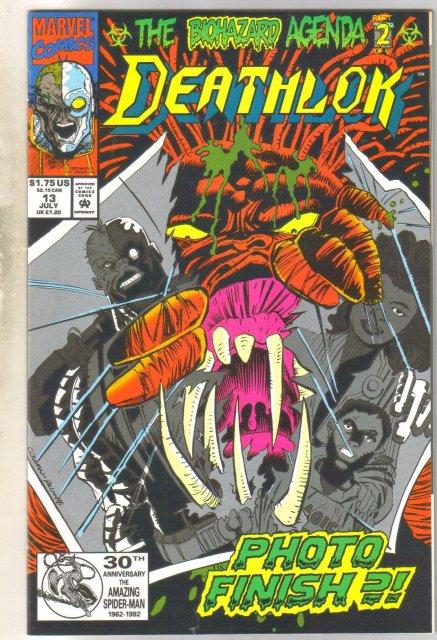 Deathlock #13 comic book near mint 9.4