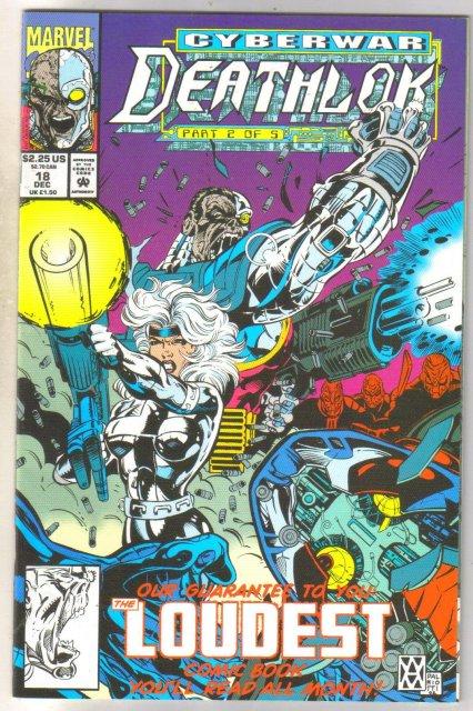 Deathlock #18 comic book near mint 9.4