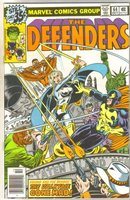 Defenders #64 comic book near mint 9.4
