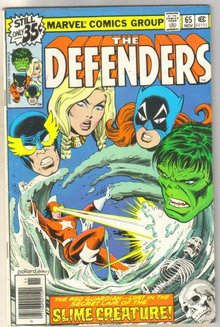 Defenders #65 comic book very fine 8.0