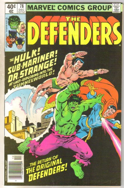 Defenders #78 comic book near mint 9.4