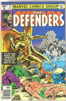 Defenders #79 comic book near mint 9.4