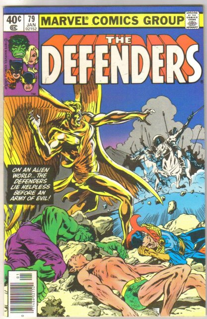 Defenders #79 comic book near mint 9.4
