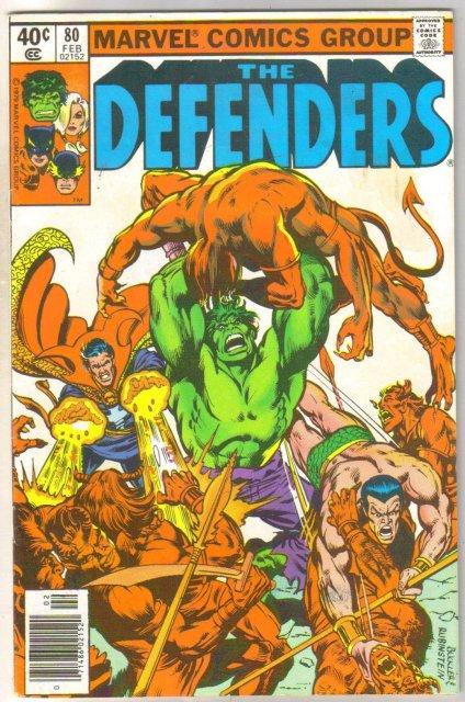 Defenders #80 comic book near mint 9.4