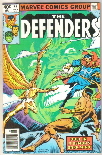 Defenders #83 comic book near mint 9.4