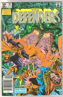 Defenders #98 comic book near mint 9.4