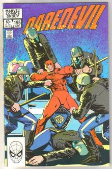 Daredevil #195 comic book near mint 9.4