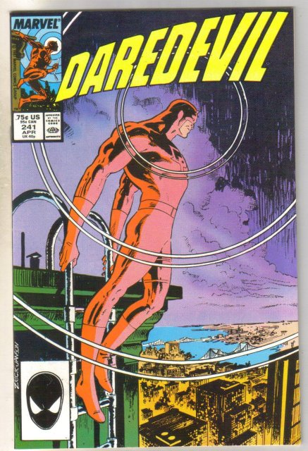 Daredevil #241 comic book near mint 9.4