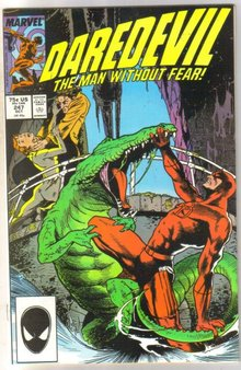 Daredevil #247comic book near mint 9.4